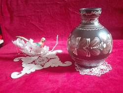 Kerámia váza jelzett