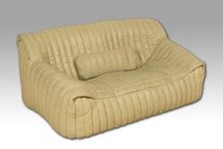 Cinna Lignet Rose bőrkanapé (1977)/Lignet Rose vintage leather sofa (1977)