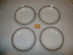 Régi gránit mély tányér - négy darab