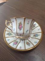 Antik Dán Royal Copenhagen porcelán csésze aljal