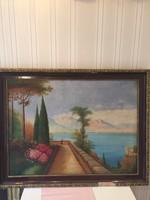 Eladó nagyméretű Láng Lipót olaj festmény !