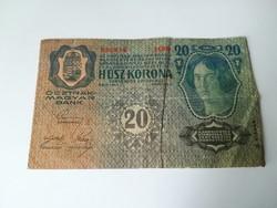 1913-as 20 Korona D. Ö fb