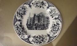 Antik porcelánfajansz tányér
