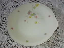 Torta-süteményes porcelán tálca.