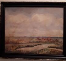 Sopron -Ruhmanné Varga Margit tájkép festmény 1942-ből
