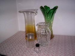 Régi üvegfélék, 5 db. (84.)