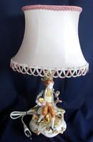 Olasz asztali lámpa. Capodimonte