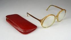 0S422 Retro francia női dioptriás szemüveg