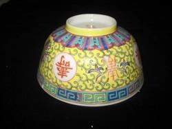 Régi kínai   csésze  az 50 es évekből  10,5 cm