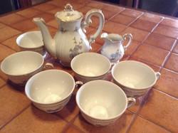 Zsolnay kávés , teás készlet ...