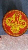 Retro Tango pasztás fémdoboz eladó!
