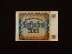 5.000 NÉMET MÁRKA - BIRODALMI RITKASÁG - 1922