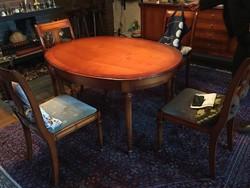 Warrings Salzburg nagybbitható étkezőasztal 5 székkel
