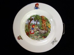 Piroska és a farkas melegentartó tányér