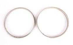 0S521 Régi kettő darab fém karperec