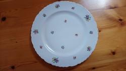 Gyönyörű, virágos tálaló tál-tányér