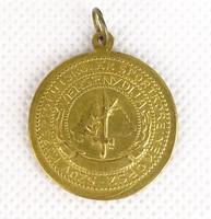 0S525 Antik irredenta sportérem aranyérem 30 mm