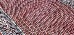 Boteh-mir kézi csomózású perzsa szőnyeg