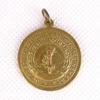 0S523 Antik irredenta sportérem aranyérem 30 mm