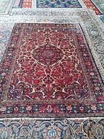 Antik Tabriz iráni kézi szőnyeg