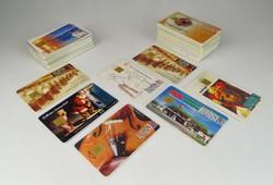 0S541 Retro telefonkártya gyűjtemény 78 darab