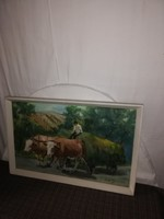 1,-Ft Képcsarnokos Óré S. antik festmény!
