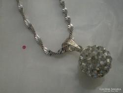 Swarowsky kristályos ,F.arany goldfilled nyaklánc