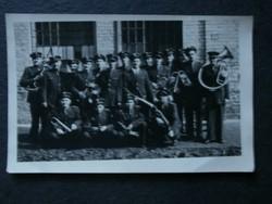Katonai fotó Rákosi katonazenekar 2 db