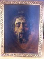 Pálnagy Zsigmond: Krisztus (önarckép)