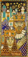 0S584 Szent István király és Gizella művészi munka