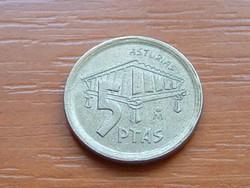 SPANYOL 5 PESETA 1995 ASTURIAS