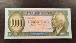 """*** Hajtatlan 1992-es """"D"""" 1000 forint ***"""