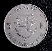 EZÜST 5 Ft 1947