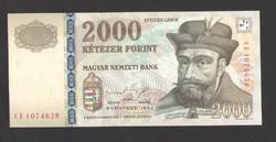 """2000 forint 1998. """"CE"""". UNC!!"""