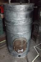 Ritkaság !!! Múzeum i WM mosódai kályha vízmelegítő tűzhely Weiss Manfred
