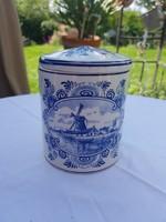 Delfts blue holland kézzel festett fűszertartó