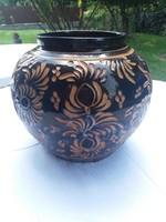 Nagyméretű korondi váza