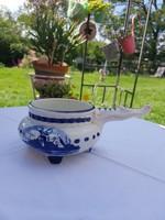 Delfts blue holland kézzel festett kiöntő