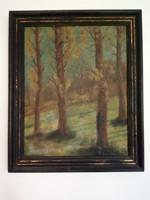 Erdőbelső, régi festmény