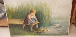 Mesterházy D. Festmény