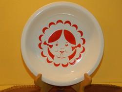 Antik Gránit fali tányér.