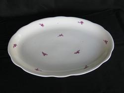 Zsolnay porcelán pecsenyés tál