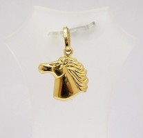 Arany lófej medál (ZAL-Au70447)