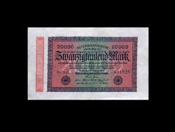 20 000 MÁRKA - NÉMET BIRODALOM - 1923 BERLIN