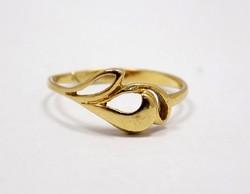 Kő nélküli arany gyűrű (ZAL-Au68554)
