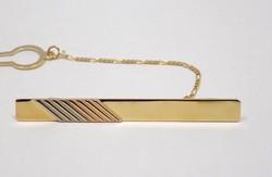 Arany nyakkendőtű (ZAL-Au74283)