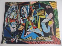 Picasso Les Femmes d'Alger/Algériai Nők vászon nyomat