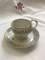 Korabeli antik1834-35 ös - biedermeier kávéscsésze alátéttel