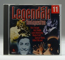 0S839 Legendák Budapesten CD
