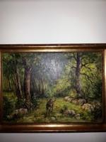 Végh :erdőrészlet